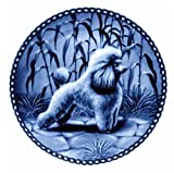 Poodle - Toy / Lekven Design Dog Plate 19.5 cm /7.61 inches Made in Denmark NEW with certificate of origin PLATE #7131