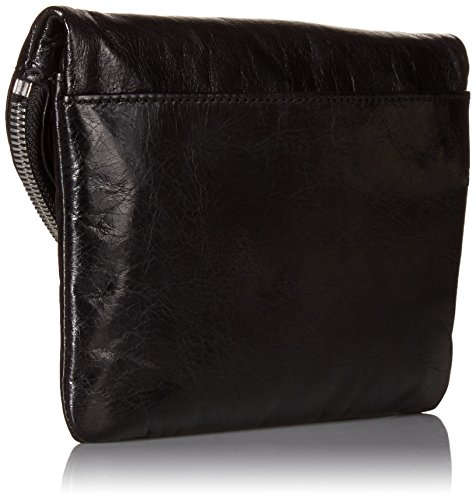 5f16e255ae HOBO Vintage Daria Convertible Cross-Body Handbag,Black,one size by HOBO (