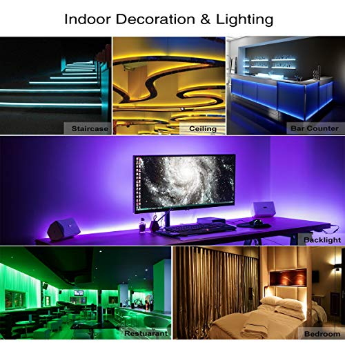 Led-Strip-Lights-Waterproof-164ft-5m-Waterproof-Flexible-Color-Changing-RGB-SMD-5050-150leds-LED-Strip-Lighting-Kit-with-44-Keys-IR-Remote-Controller-and-12V-Power-Supply