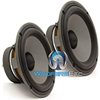 Pair of HP 165V2S - Focal 6.5 75W RMS Midrange Speakers
