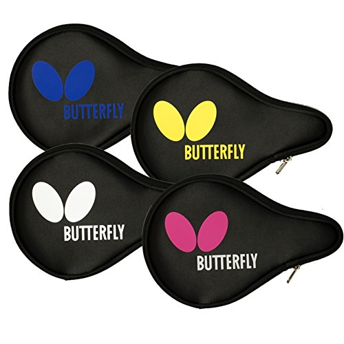 Butterfly Logo Tour Table Tennis Racket Case - Holds 2 Paddles and 4 Balls ()
