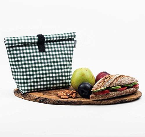 Bolsa reutilizable impermeable para comida fruta frutos secos