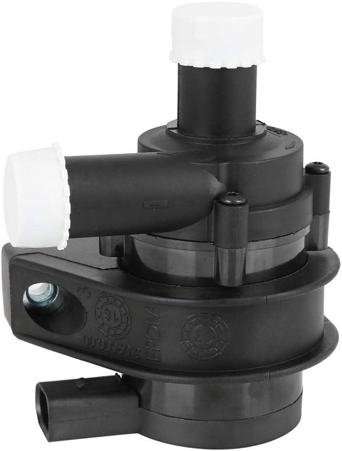 X AUTOHAUX Car Auxiliary Coolant Water Pump 1K0965561B 1K0965561J Engine Water Pumps for Volkswagen Passat CC