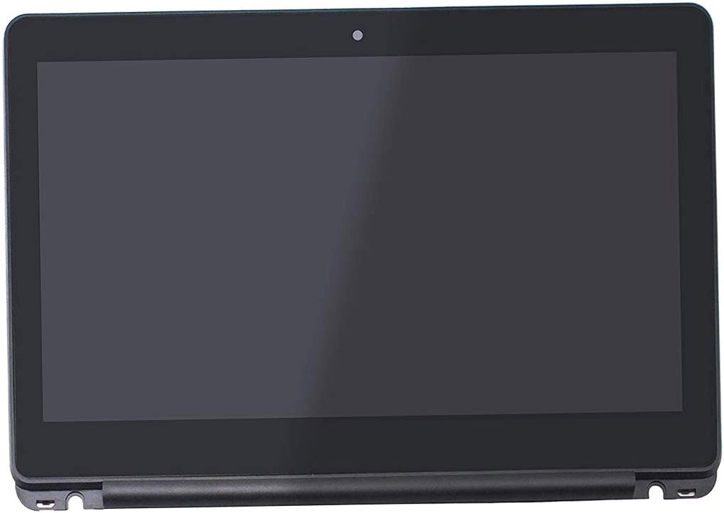 "11.6"" Screen Replacement Touch Digitizer Glass LCD Display HD for HP Chromebook 11-v010nr 11-v020nr 11-v031nr 11-v032nr 11-v010wm 11-v020wm 11-v025wm 11-v019wm 11-v002dx (with Frame Bezel)"