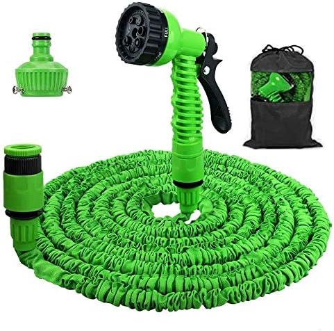 Boomersun Manguera de jardín Extensible Flexible Manguera con 7 Funciones de riego para regar o Lavar el Coche con Agua a presión (30): Amazon.es: Jardín