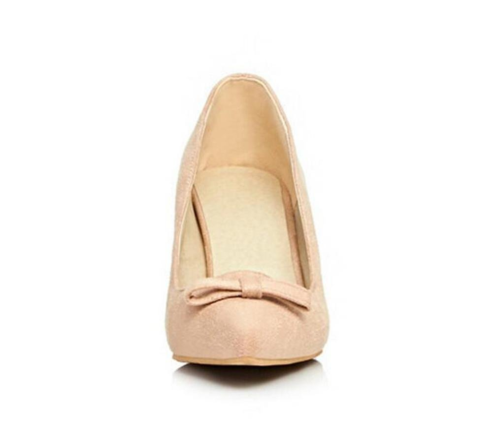 XIE damen Shallow Mund Mund Mund Einfache Reine Farbe Mädchen mit Feinen High-Heeled Gericht Schuhe bd5bc6