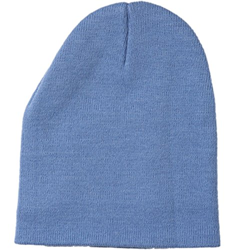 Yupoong v-flexfit Heavyweight Knit Cap Azul Carolina