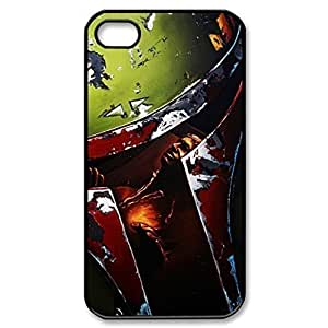 SUUER star wars soldier boba fett Custom Hard Case for iPhone 4 4s Durable Case Cover