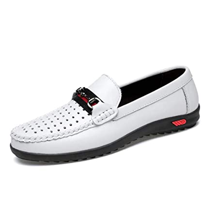 8d91acf25251 Amazon.com: YaXuan Men's Leather Spring/Fall Comfort Loafers & Slip ...