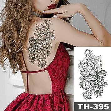 HXMAN 5 Unids 3d Rosa Ancla Reloj Perla Impermeable Tatuaje ...