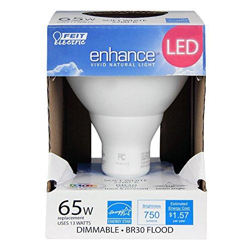 Feit BR30/927/LED 65W Equivalent Dimmable High Cri LED Br30 Light, Soft White