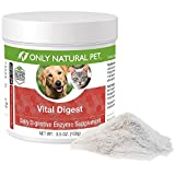 Product review for Only Natural Pet Vital Digest Formula for Dogs and Cats with Natural Digestive Enzymes - Holistic All-Natural Formula - 3.5 oz Powder