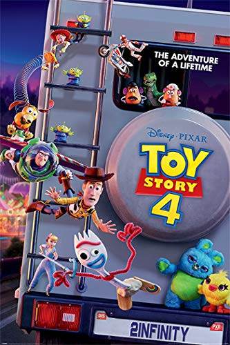 Toy Story 4 - Disney/Pixar Movie Poster (Adventure of a Lifetime) (Size: 24 inches x 36 inches) ()