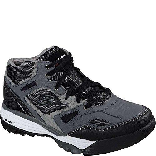 Skechers Heren Reforge Bigun Outdoor Schoenen Charcoal / Black D (m) Us Charcoal / Black