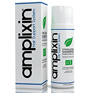 Amplixin Stimulating Hair Growth Shampoo for Women & Men, Anti Hair Loss Product for Normal To Thinning Hair, 8 fl Oz