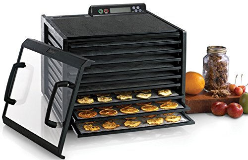 Why Choose Excalibur 3948CDB 9-Tray Electric Food Dehydrator Clear Door for Viewing Progress Adjusta...