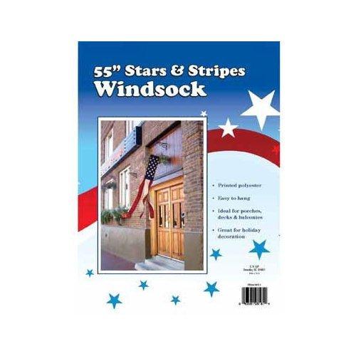 WINDSOCK STAR/STRIPE55