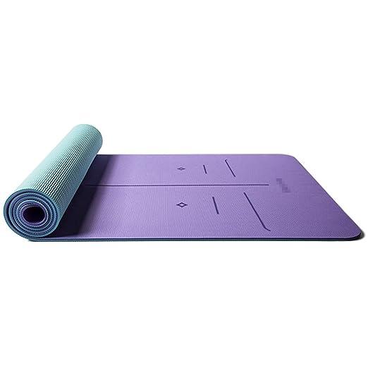 LPFMM TPE Estera de Yoga ensanchada Engrosada Larga Estera ...