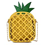 Phone Clutch Purse Pineapple Shape for Women Girls Wallet Bags with Shoulder Strap