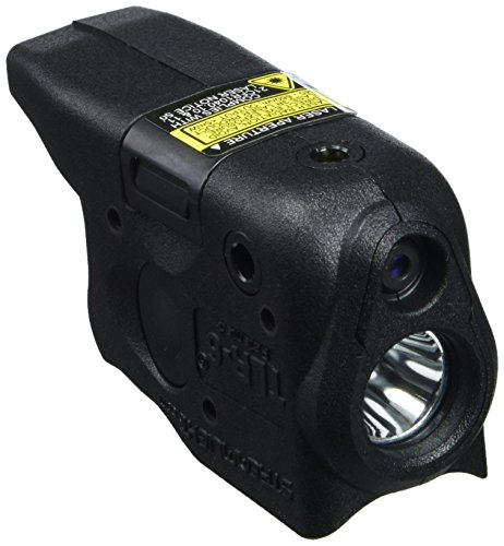 Streamlight 69272 TLR-6 Tactical Pistol Mount Flashlight 100 Lumen with Integrated Red Aiming Laser Designed Exclusively and Solely for Glock 26/27/33, Black - 100 Lumens