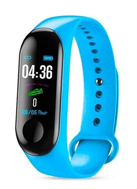 X secret M3 Bluetooth Smartwatch Fitness Uhr Intelligente Armbanduhr Fitness Tracker Smart Watch Sportuhr Sleep Tracker kompatibel mit ...