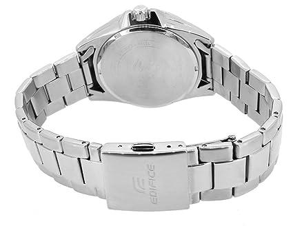 EDIFICE Reloj Analógico para Hombre de Cuarzo con Correa en Acero Inoxidable EFV-560D-1AVUEF: Amazon.es: Relojes