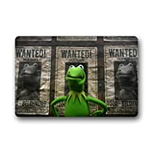 Green-Store Custom Muppets Most Wanted Doormat for Drying Wet Feet, Grabing Dirt and Dust