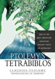 img - for Ptolemy's Tetrabiblos book / textbook / text book