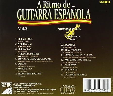 A Ritmo De Guitarra Española Vol.3: Various Artists: Amazon.es: Música
