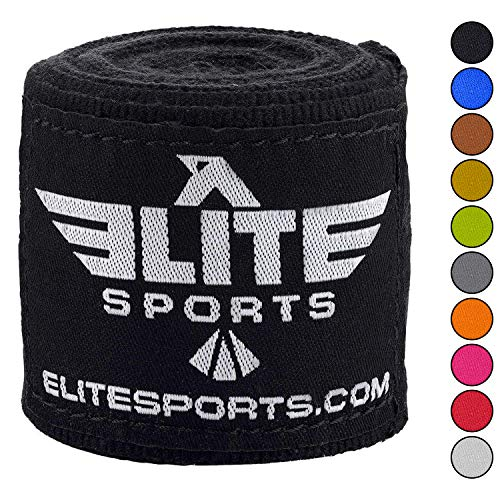 Elite Sports New Item Professional Boxing, Kickboxing, Muay Thai, and Mma Hand Wraps, 180