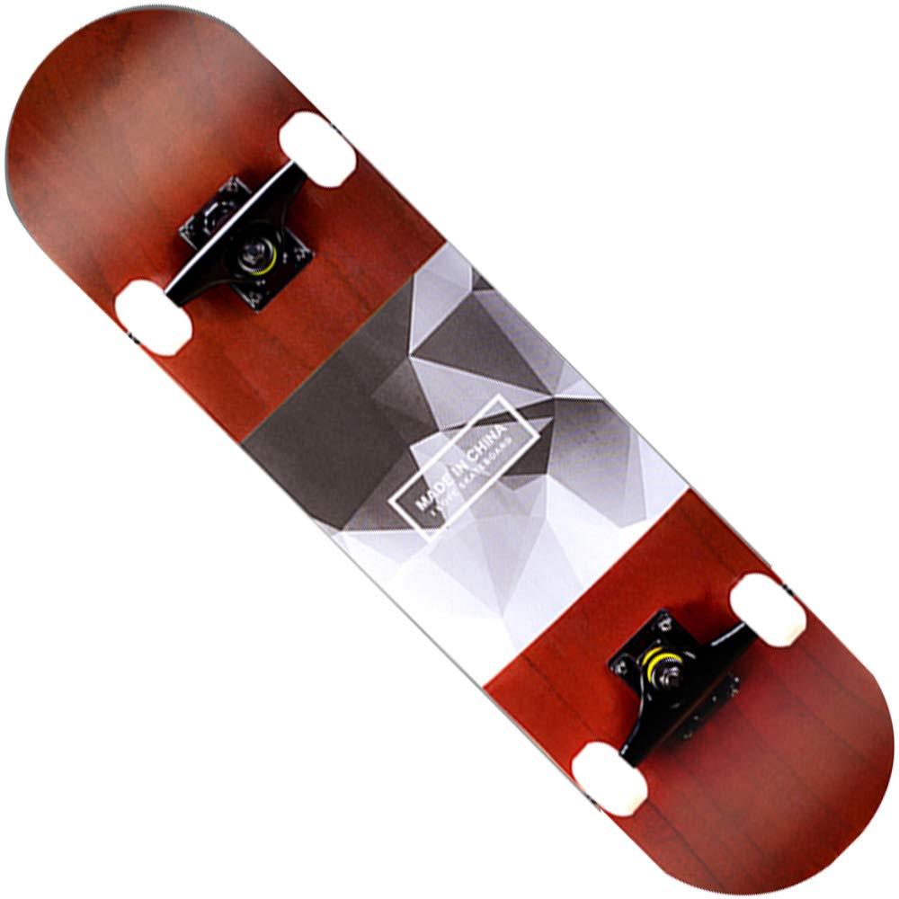 最安値 スケートボードファッションパターン7層メイプルエメリー四輪旅行初心者スクーター31インチ D B07H94PLHG B07H94PLHG D D D, 挨拶状 はがき 印刷 帰蝶堂:eec96983 --- a0267596.xsph.ru