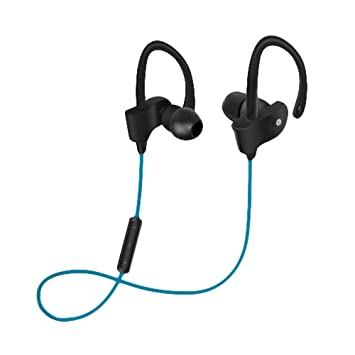 Woxter Airbeat BT-9 Blue - Auriculares Bluetooth estéreos deportivos y con sujeción (SECURE-FIT). Color Azul.: Amazon.es: Instrumentos musicales