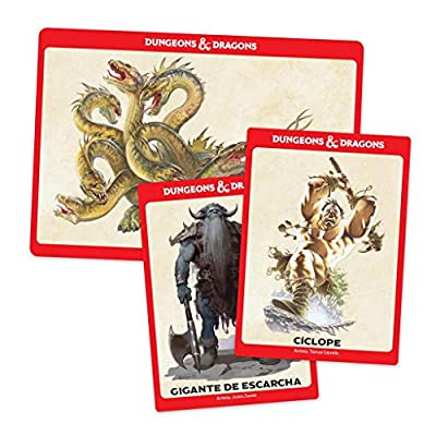 Dungeons & Dragons Monster Cards - Challenge 6-16 Colour (EEWCDD91): Toys & Games