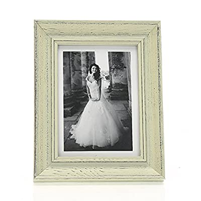 4x6 Inches Simple Rectangular Wood Desktop Family Picture Photo Frame