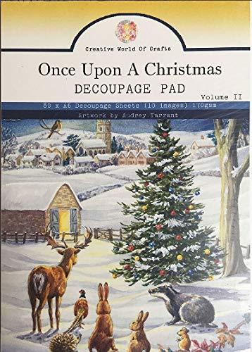 (Audrey Tarrant A6 Decoupage Pad-vol.2 Once Upon A Christmas)