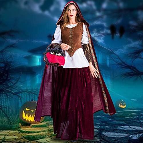 Joe Wenko Women Cosplay V Neck Sleeveless Romper Halloween Hoodie Jumpsuits
