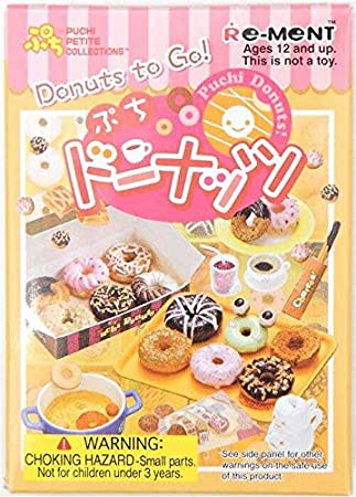 Re-Ment Caja Sorpresa miniaturas Donut Donuts to Go!: Amazon.es: Juguetes y juegos
