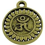 ZX07215 30 x Antik Bronze Tibetanische 6mm Charms Anh/änger - - Charming Beads Schlittenglocken