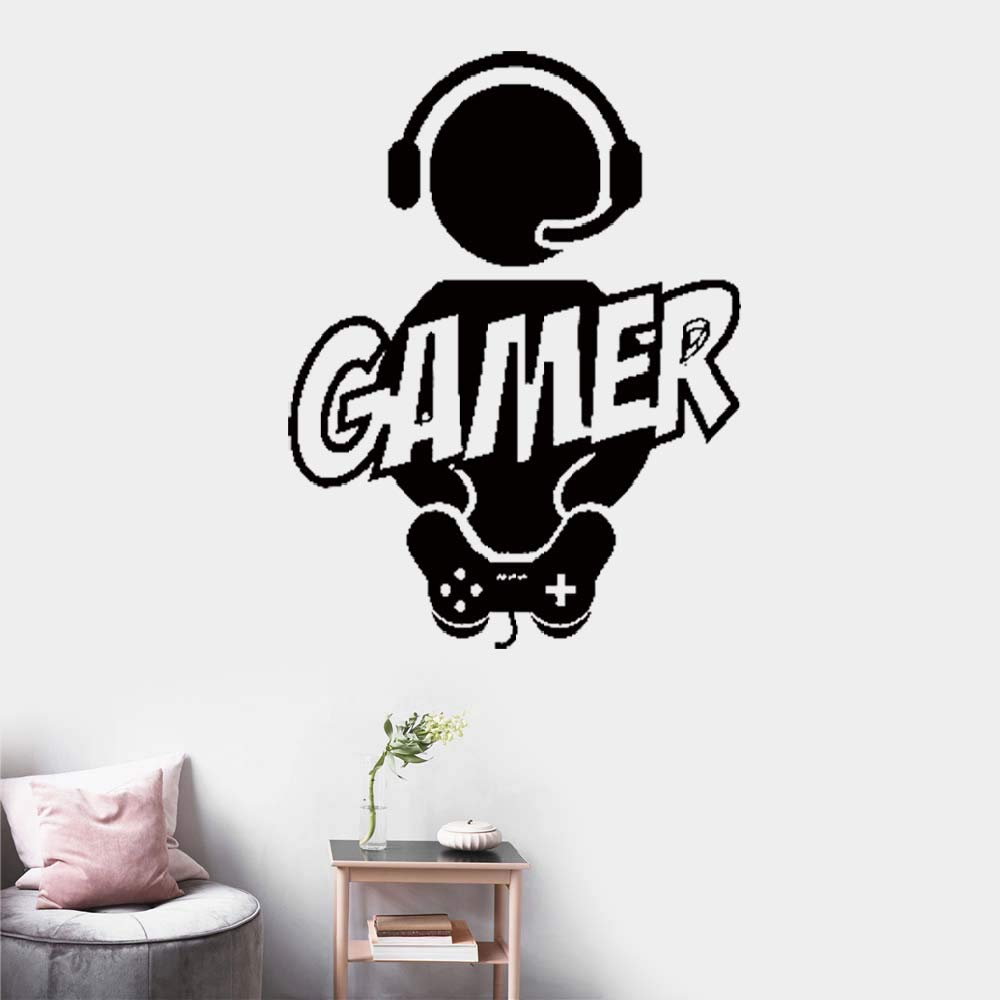 pegatinas de pared tortugas ninja Gaming Gamer Joystick ...