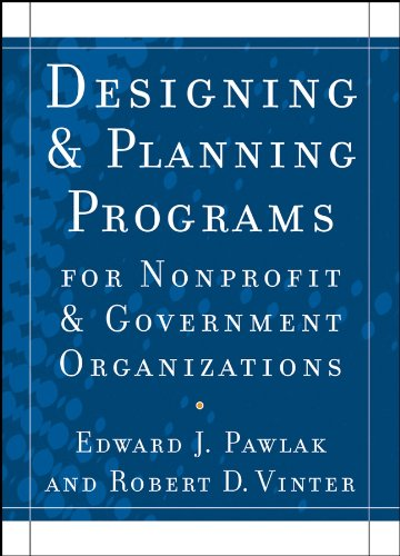 Download Designing and Planning  Programs for Nonprofit and Government Organizations Pdf