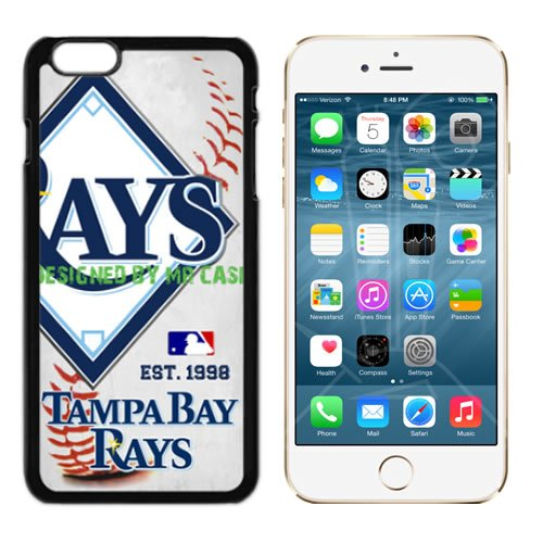 Rays Tampa Bay Baseball New Black Apple iPhone 6S, 6 Case By Mr Case