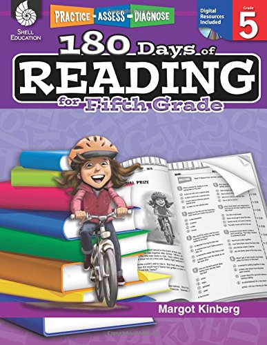 180 Days of Reading for Fifth Grade (180 Days of Practice)