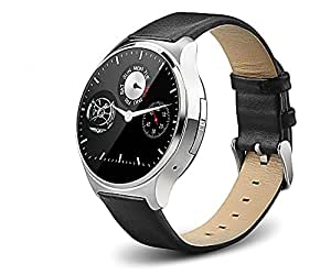 OUKITEL A29 Anti-lost Smart watch Phone MTK2502 Bluetooth 4.0 IP53 Heart Rate Monitor FM Remote Capture (Silver)