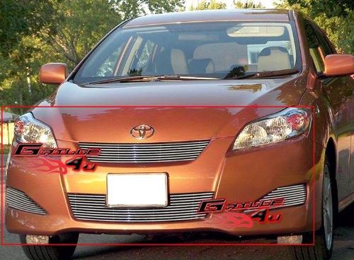 Toyota Matrix Billet Grille - APS 2009-2010 Toyota Matrix Billet Grille Combo Insert #S18-A30666T