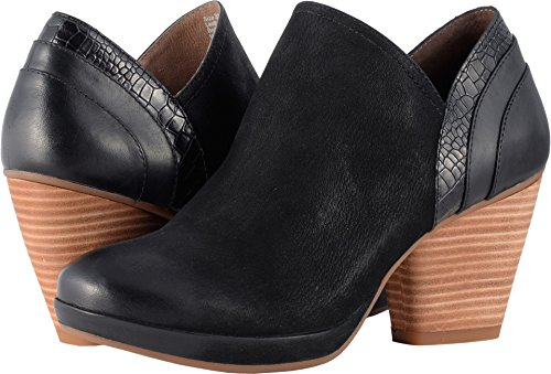 Dansko New Women's Marcia Ankle Boot Black Burnished Nubuck 37