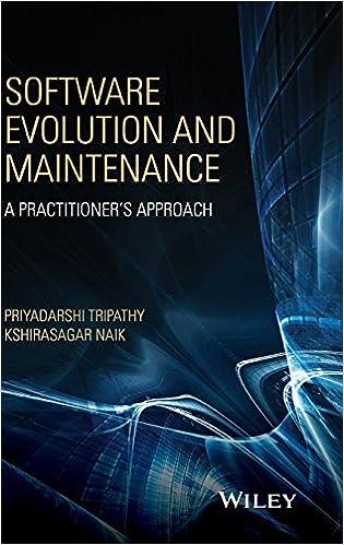 Software Evolution And Maintenance A Practitioner S Approach Tripathy Priyadarshi Naik Kshirasagar 9780470603413 Amazon Com Books
