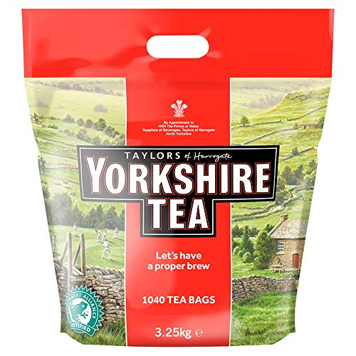 Taylors of Harrogate Yorkshire Tea 1040 Bolsas de te 3 25kg