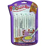 Foodoodler 10 Pc Color Fine Line Marker Set Kosher