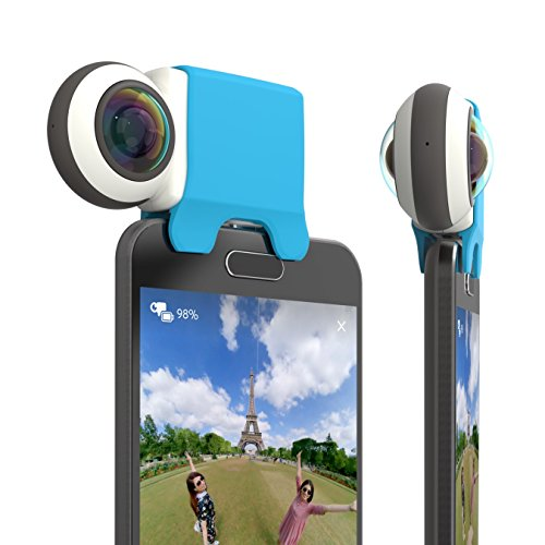Giroptic 360 camera for Android Smartphones - Blue by Giroptic