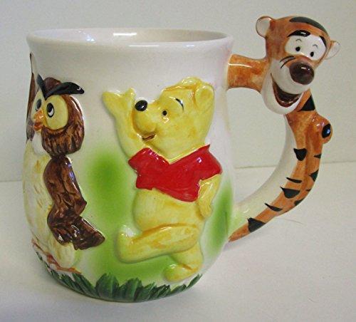 Pooh Tigger Owl Disney Ceramic Coffee Mug